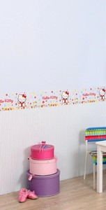 Hello Kitty Blue Border 4760-05