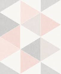 Arthouse Scandi Pink Triangles 908204