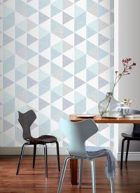 Arthouse Scandi Teal Triangles 908205