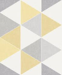 Arthouse Scandi Yellow Triangles 908206