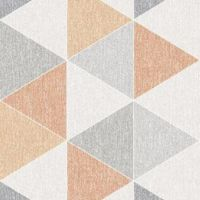 Arthouse Scandi Orange Triangles 908207
