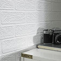 Super Fresco Brick White 93744