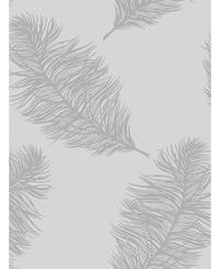 Holden Decor Feathers Grey / Silver 12626