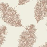 Holden Decor Feathers Cream 12627
