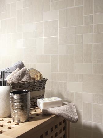 Holden decor glitter tile tiling on a roll wallpaper 89242 for Tiling on a roll kitchen wallpaper