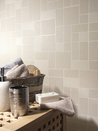 Holden Decor Glitter Tile Beige 89242