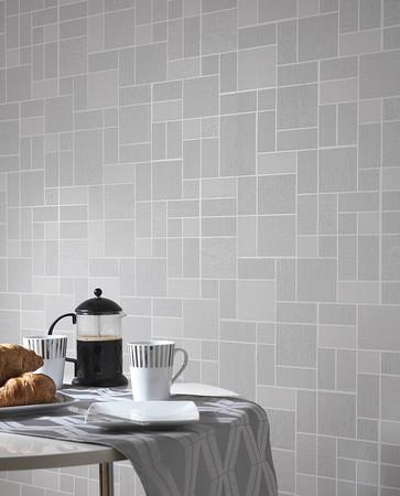 Holden Decor Glitter Tile Tiling On A Roll Wallpaper 89243