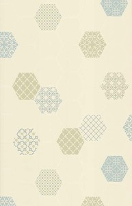Holden Decor Moroccan Tile Teal 89261