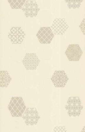 Holden Decor Moroccan Tile Pattern Kitchen Bathroom Wallpaper Beige 89263