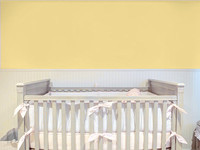 Amelia Plain Yellow Wallpaper 45980