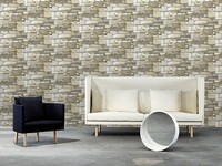 Natural Stone Wall Warm Beige 663606