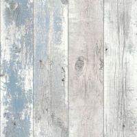 Driftwood Woodgrain Nautical Blue 670508
