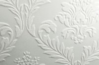 Super Fresco Damask White 19038