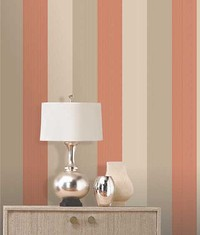 Olivia II Stripe Burnt Orange Gold 6160