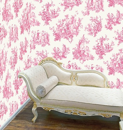 Pink Wallpaper on Shabby Chic Wallpaper   Direct Wallpaper   Wallpaper Boutique